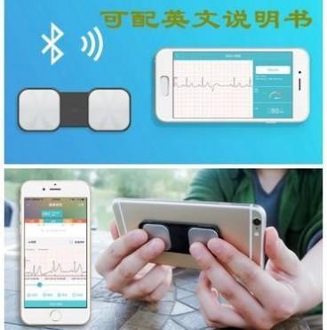 外贸便携式手持心电家用检测早搏监护ECG心电机掌上心率图监测仪
