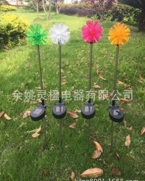 供应太阳能不锈钢插杆灯 太阳能花园灯