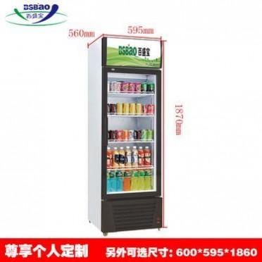 厂家直销 立式双门饮料展示柜商用超市便利店饮品啤酒保鲜冰柜