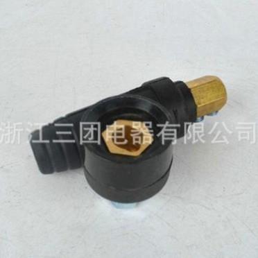 直销电焊机快速接头DKJ-16平方 插头全铜 DKJ焊机快速接头