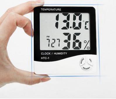 HTC-1家用电子温湿度计,数字温湿度计,数显温湿度计