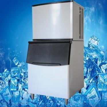 厂家供应 佳石制冰机 商用450公斤 酒吧冰机 The ice maker